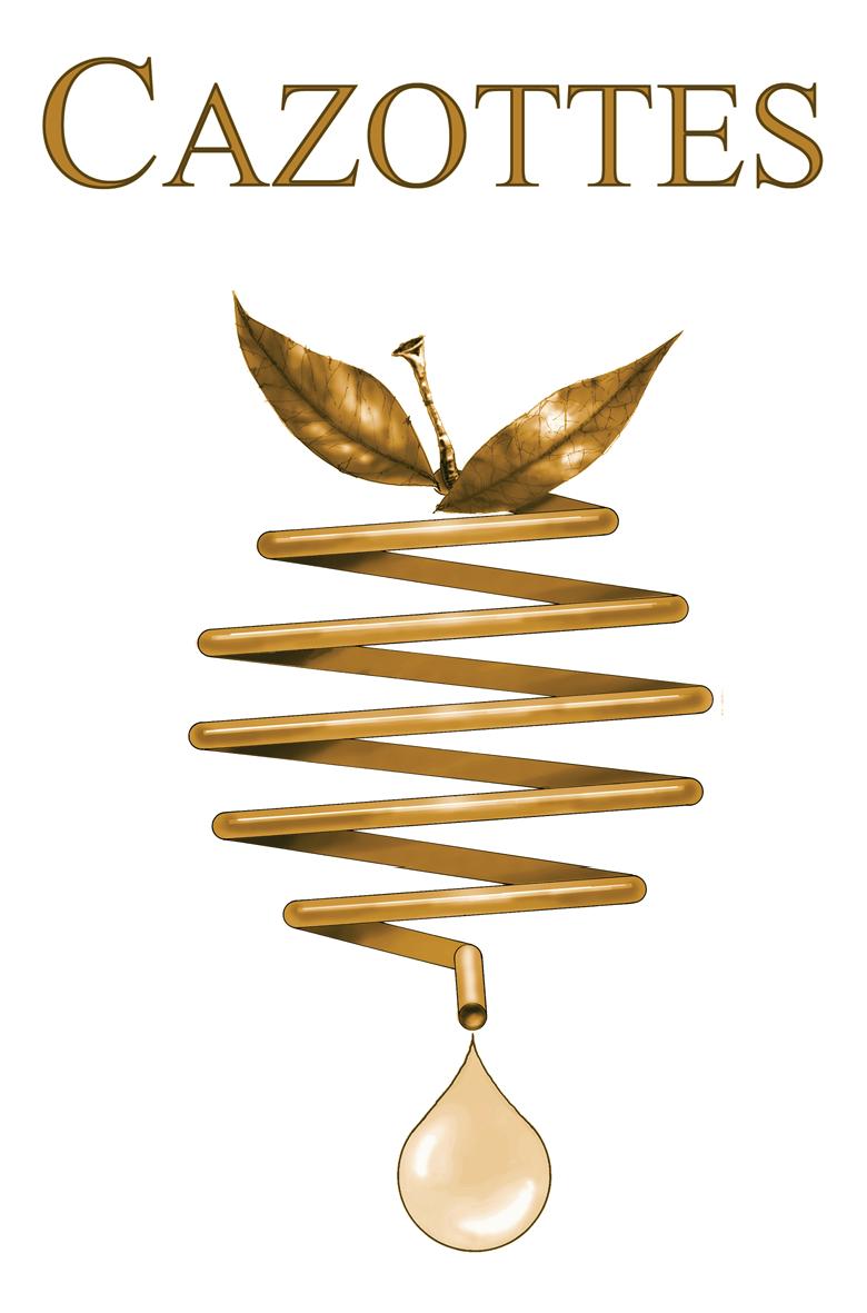 Logo cazottes cuivre