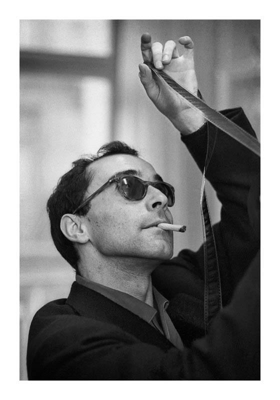 Jean-Luc Godard - Crédit photo Philippe R Doumic